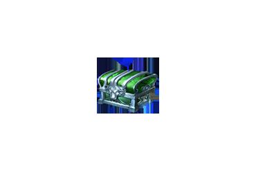 緑色の宝箱