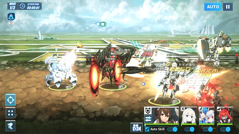 ファイナルギア戦闘画面